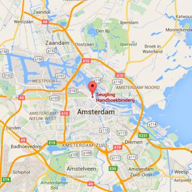 Boekbinderij Seugling Amsterdam, handboekbinders sinds 1923. Bookbindery Seugling Amsterdam, handbookbinders since 1923,  Büchbinderei Seugling Amsterdam, handbuchbinder seit 1923